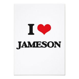 I Love Jameson 5x7 Paper Invitation Card
