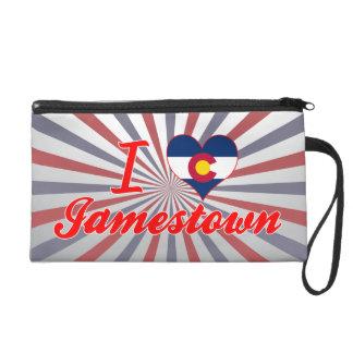 I Love Jamestown, Colorado Wristlet Clutch
