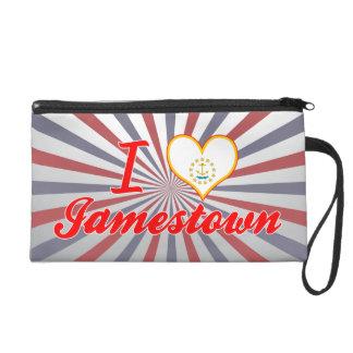 I Love Jamestown, Rhode Island Wristlet