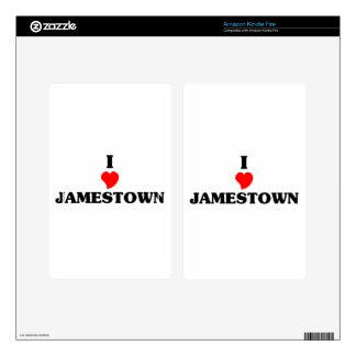 I love Jamestown Kindle Fire Decals
