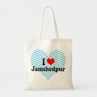 I Love Jamshedpur, India Tote Bag