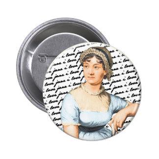 I love Jane Austen Button