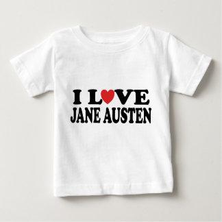 I Love Jane Austen Classic Baby T-Shirt