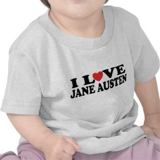 I Love Jane Austen Classic Tees