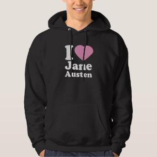 I Love Jane Austen Hoodie