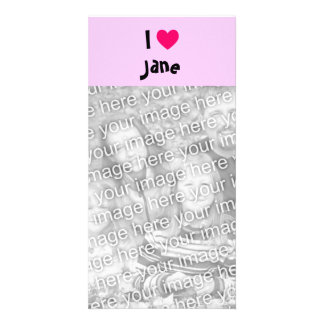 I Love Jane Card
