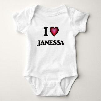 I Love Janessa Baby Bodysuit
