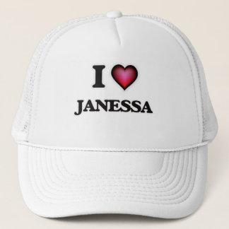 I Love Janessa Trucker Hat