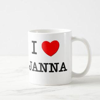 I Love Janna Mugs