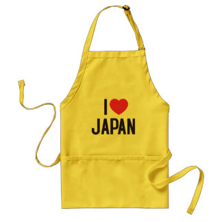 I Love Japan Adult Apron