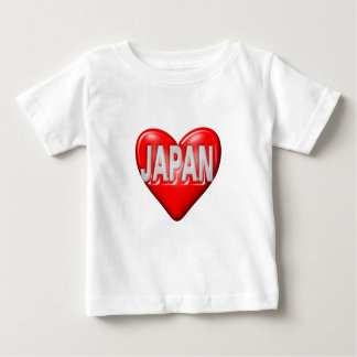I Love Japan Baby T-Shirt