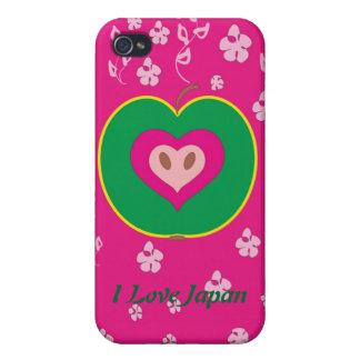 I love Japan Case iPhone 4/4S Covers