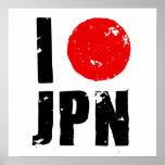I Love Japan (I Love JPN) Posters