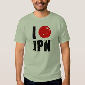 I Love Japan (I Love JPN) Shirt