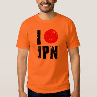 I Love Japan (I Love JPN) T-shirts