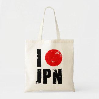 I Love Japan (I Love JPN) Tote Bag