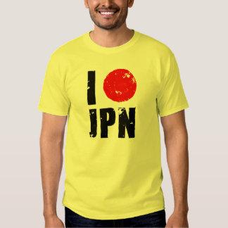I Love Japan (I Love JPN) Tshirts
