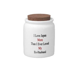 I Love Japan More Than I Ever Loved My Ex Husband. Candy Jar