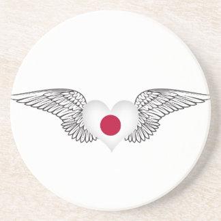 I Love Japan -wings Coasters