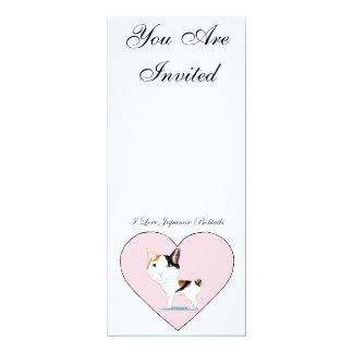 I Love Japanese Bobtails Card