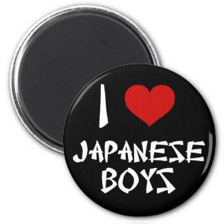 I Love Japanese Boys Magnet