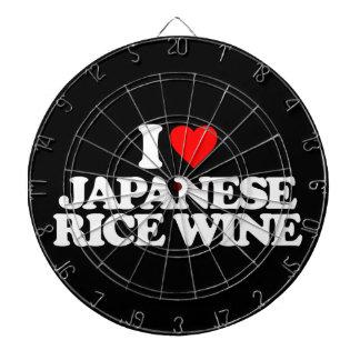 I LOVE JAPANESE RICE WINE DARTBOARD