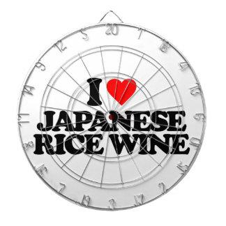 I LOVE JAPANESE RICE WINE DART BOARDS