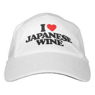 I LOVE JAPANESE WINE HEADSWEATS HAT