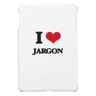 I Love Jargon iPad Mini Case