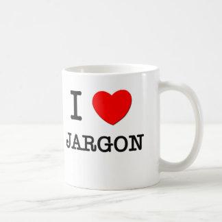 I Love Jargon Coffee Mugs