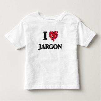 I Love Jargon Shirts