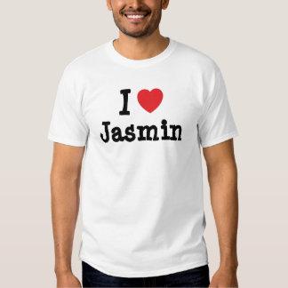 I love Jasmin heart T-Shirt