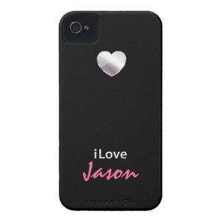 I Love Jason Case-Mate iPhone 4 Cases