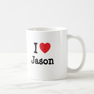 I love Jason heart T-Shirt Coffee Mug