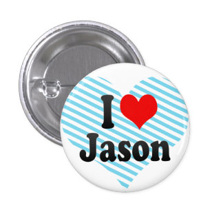 I love Jason Pinback Button