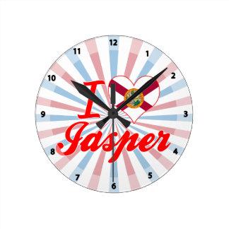I Love Jasper, Florida Clock