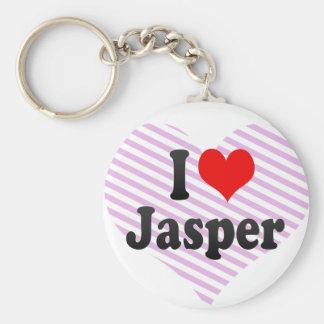 I love Jasper Keychain