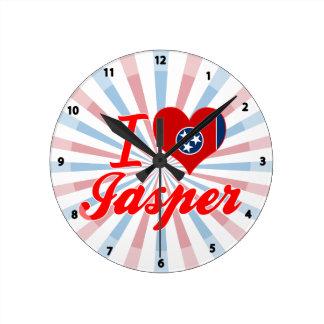 I Love Jasper, Tennessee Wall Clocks