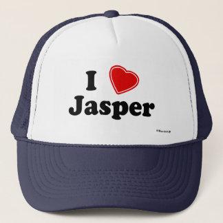 I Love Jasper Trucker Hat