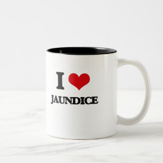 I Love Jaundice Two-Tone Coffee Mug