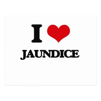 I Love Jaundice Postcard