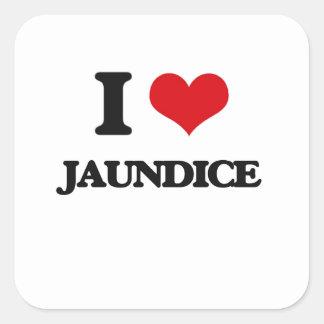 I Love Jaundice Square Sticker