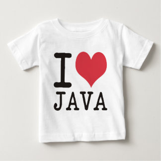 I Love JAVA - KETCHUP - KITTY Products & Designs! Baby T-Shirt