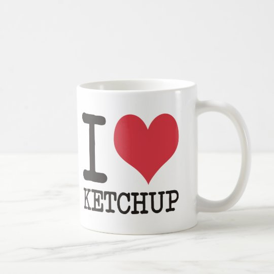 I Love JAVA - KETCHUP - KITTY Products & Designs! Coffee Mug
