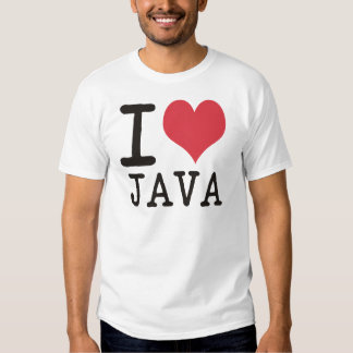 I Love JAVA - KETCHUP - KITTY Products & Designs! T-shirt