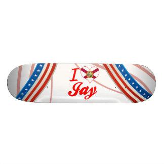 I Love Jay, Florida Skateboard Deck