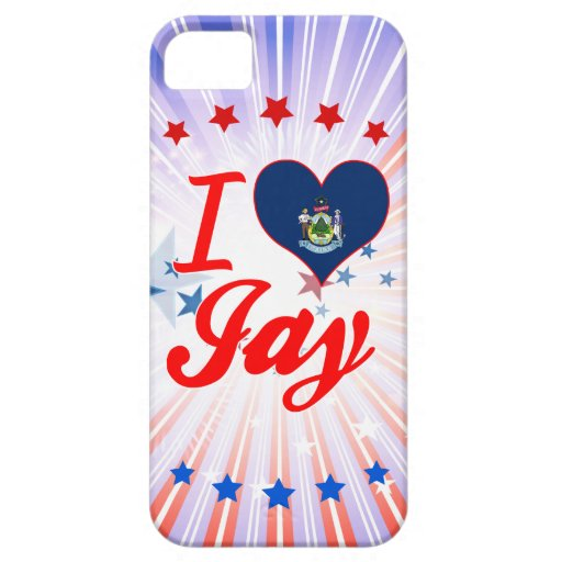 I Love Jay, Maine iPhone 5 Cover
