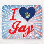 I Love Jay, Maine Mouse Pad