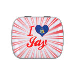 I Love Jay, New York Candy Tin
