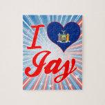 I Love Jay, New York Puzzle